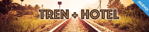 edreams tren + hotel