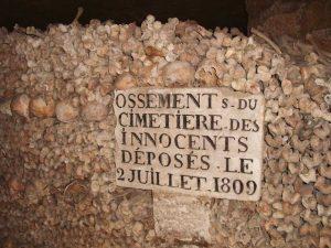 catacumbas de París leyenda