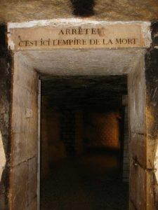 catacumbas de París inscripcion