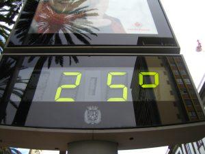 buena temperatura