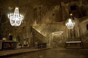capilla minas de sal de wieliczka