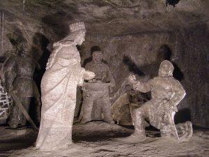 estatuas minas de sal de wieliczka