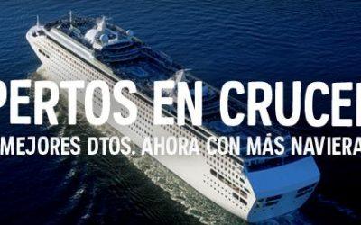 Código descuento en cruceros Atrapalo