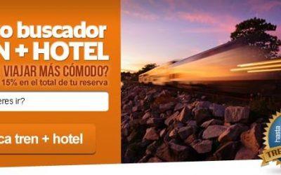 Buscador tren + hotel de Destinia