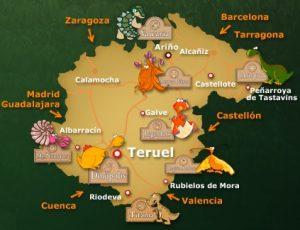 mapa territorio dinopolis