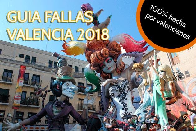 Guía rápida de las Fallas de Valencia 2018