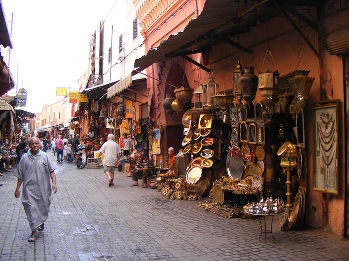 zoco marrakech vendedores