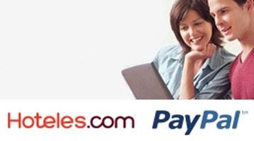 Pagar hotel con Paypal ahora en Hoteles.com