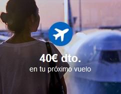 Código descuento en vuelos con Rumbo
